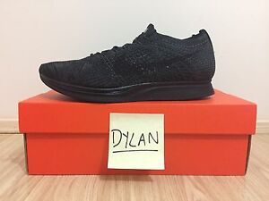 Nike Flyknit Racer Triple Black - Sz 10US Mens NEW Merrylands West Parramatta Area Preview