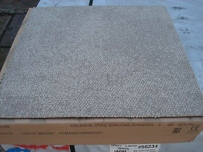 BEIGE CARPET TILES by 'INTERFACE'