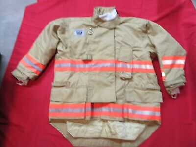 N.o.s. 50 X 32 Morning Pride Fire Fighter Turnout Drd Jacket Bunker Gear Rescue