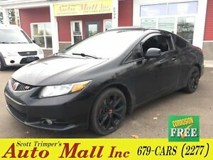 2012 Honda Civic Coupe SI/Sunroof/Alloys