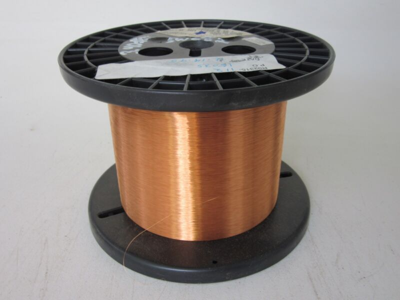 41 AWG  3.40 lbs.   Phelps Dodge Enamel Coated Copper Magnet Wire