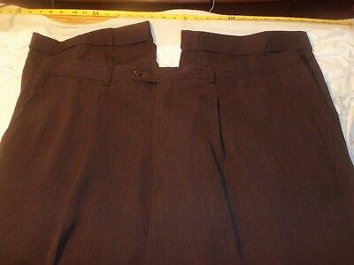 bagazio 44 x 30  pleated & cuffed 100% polyester #348