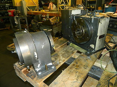 Tsudakoma 10 Nc Rotary Table W Tailstock Rb-250l Mfgd 2002 Used