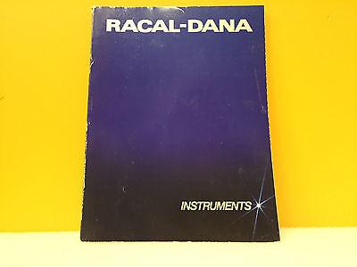 Racal-dana 1984 1985 Instruments Catalog