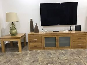 Tv cabinet and coffee table Wetherill Park Fairfield Area Preview