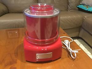 Ice Cream Maker - Crisinart Cherrybrook Hornsby Area Preview