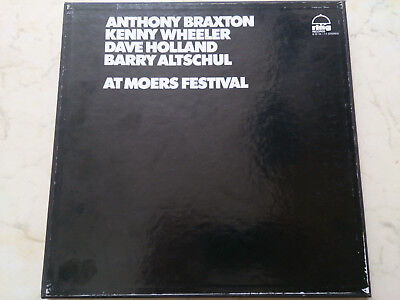 ANTHONY BRAXTON /WHEELER /HOLLAND /ALTSCHUL At Moers Festival *2LP Box*FREE JAZZ