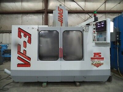 1996 Haas Model Vf-3 Vertical Machining Center Vmc W New Spindle In 2018