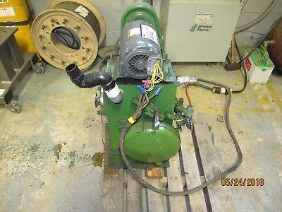 Stokes Pennwalt 146h Microvac Rotary Piston Vacuum Pump 1hp 220v 460v 3 Ph