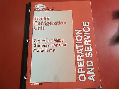 Carrier Transicold Trailer Refrigeration Unit Genesis Tm900 Tm1000 62-10022-01