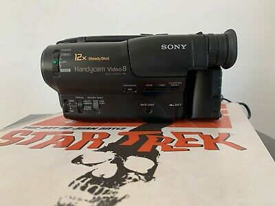 SONY CCD-TR485E ANALOGUE CAMCORDER ( 8mm Video 8 Playback SP/LP )