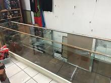 Shop counters, Large floor to ceiling glass display wall cabinets Brisbane City Brisbane North West Preview