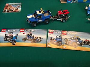 Lego 5893 Creator Truck and Trailer 3in1
