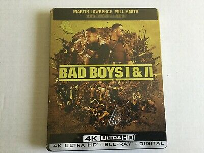 Bad Boys/ Bad Boys II Best Buy SteelBook 4K Ultra HD + Blu-Ray +