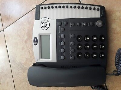 - AT&T 945 4-Line Small Business System Office Telephone W Handsets.