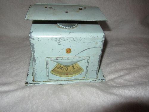Vintage Detcto Scale Blue 50