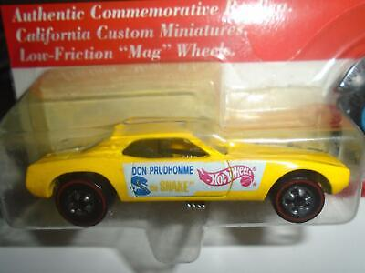1993 HOT WHEELS VINTAGE COLLECTION~DON PRUDHOMME RED LINE SNAKE FUNNY CAR~NEW