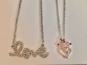 New Love or princess necklaces
