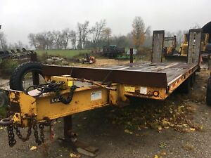 2002 JDJ Float trailer 20 Ton
