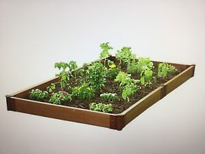 Raised garden 4ft x 8 ft x 6 inch Brand new with spikes