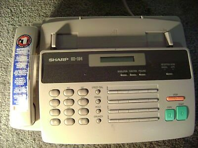 Sharp Ux 194 Fax Machine Phone----item From My Bargain Basement