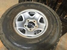 Landcruiser VDJ79 Tyres and Rims x5 Badgingarra Dandaragan Area Preview