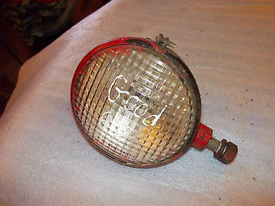 Farmall A B Bn C Tractor Nice Orig Ih Working Front Tear Drop 6v Light