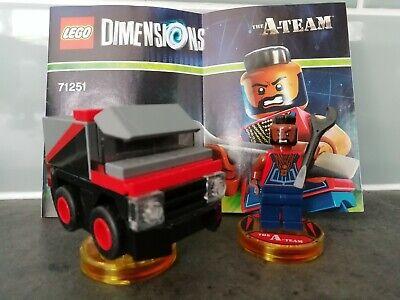 Lego Dimensions A Team (BA Baracus)
