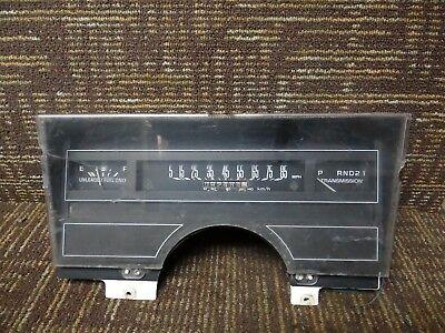 89 90 91 92 93 Buick Century Speedometer Instrument Cluster 92K Miles 16169764
