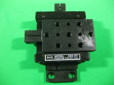 Newport Nrc 2 Axis Positioner -- Model 460-xy -- Used