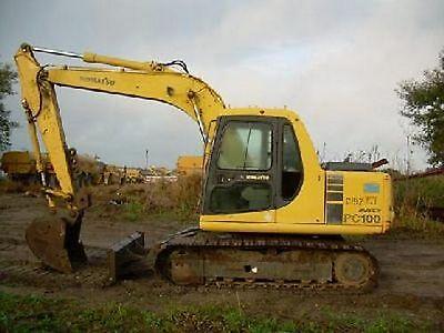 Komatsu PC 100-6 & PC120-6 Excavator Workshop Manual