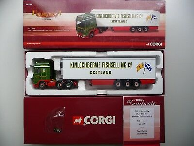 Corgi CC13239, DAF XF Super Space Cab Fridge Trailer-Kinlochbervie Fishselling., used for sale  Solihull
