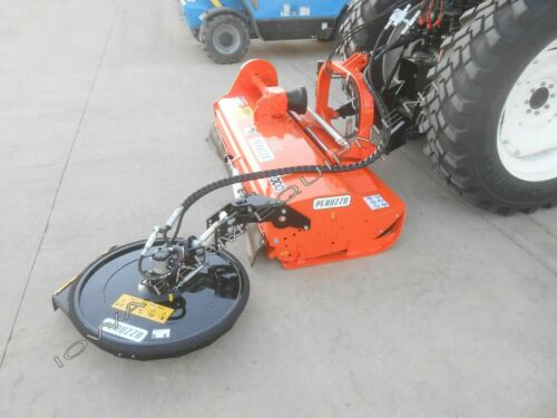 "Peruzzo 31"" Fence Row & Tree Row Side Trim Mower, Cutter, Trimmer, Side Groomer!"