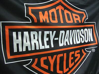Harley Fahne Flagge Flag Bar&Shield Querformat ca.1,7m breit x 1m hoch