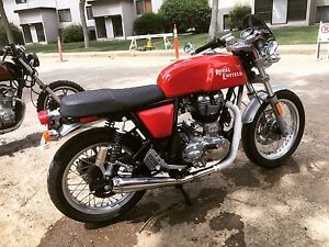 2014 Royal Enfield Continental GT lots of mods
