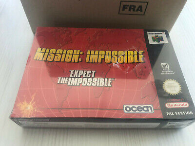 MISSION IMPOSSIBLE NINTENDO 64 N64 PAL FRA NEUF FACTORY SEALED