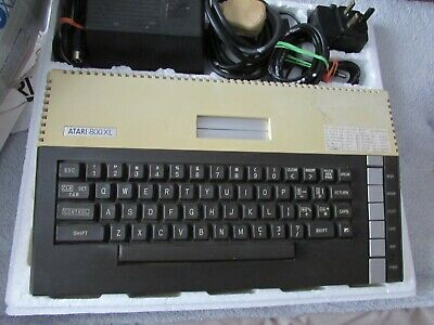 Atari 800XL Computer - with power supply etc