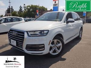2017 Audi Q7 3.0T Komfort Quattro-like new