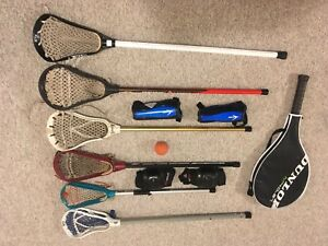 Lacrosse sticks and Large Tower gearbag