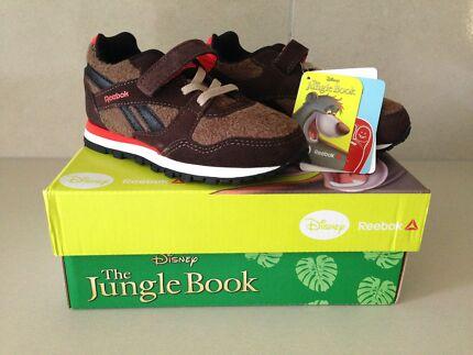 BNWT Reebok Disney 'Jungle Book' Baloo Infants Runners (Size US9)