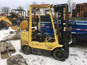 2003 HYSTER S60XM FORKLIFT