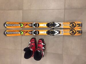 Ski Rosignol 110 cm, boots 21.5 (size 3) and bonding Head