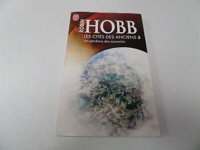 """livre J'ai Lu """"La cité des anciens 5 - les gardiens des souvenirs"""" de Robin Hobb"""