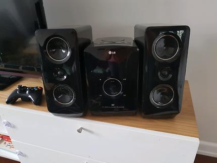 LG Micro Hifi sound system
