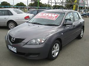 2008 Mazda 3 Neo Sport Hatch Low k's 87595 SERVICE HISTORY Fawkner Moreland Area Preview