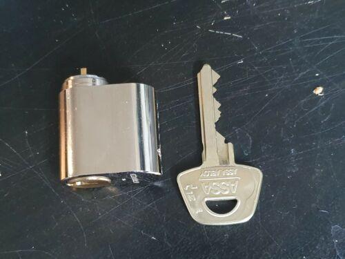 Assa D12 Oval cylinder lock with 1 key, lockpick, locksport, locksmith