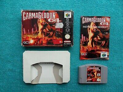 CARMAGEDDON - N64 / nintendo 64