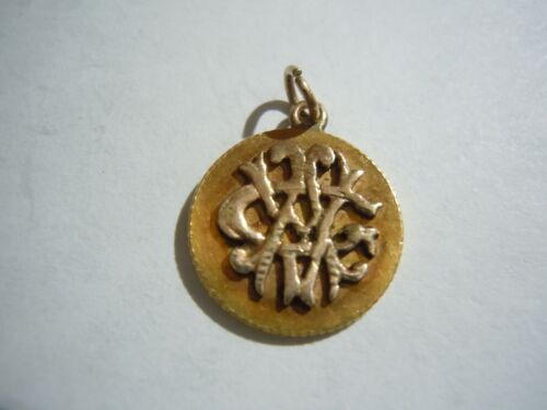 Gold Dollar Love Token Applied Gold Letters