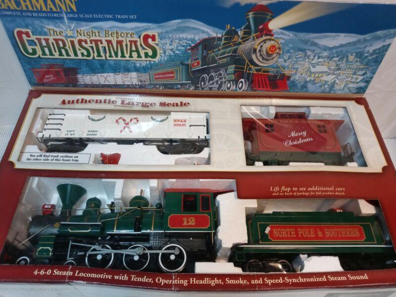 Bachmann Night Before Christmas G Scale Train Set 90037