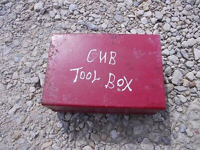 International Cub Lo Low Boy Lb Tractor Ih Tool Box For Deluxe Seat Frame
